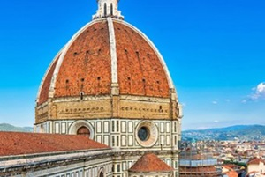The Duomo Cathedral in Florence Italy