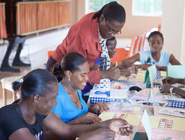 Parent Math Training Pilot in Jamaica