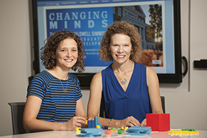 Professor Leanne Ketterlin Geller and researcher Lindsey Perry Ph.D