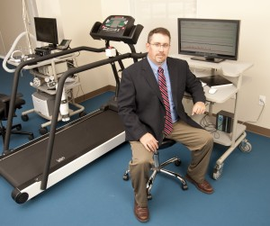 Dr. Scott Davis, Director of the Applied Physiology Laboratory in the Department of Applied Physiology and Wellness