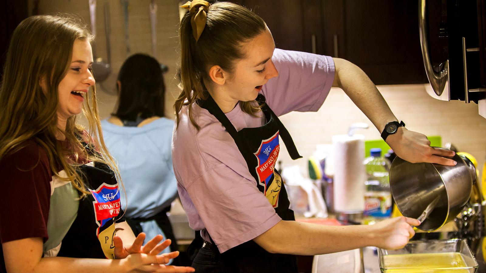 Students Baking