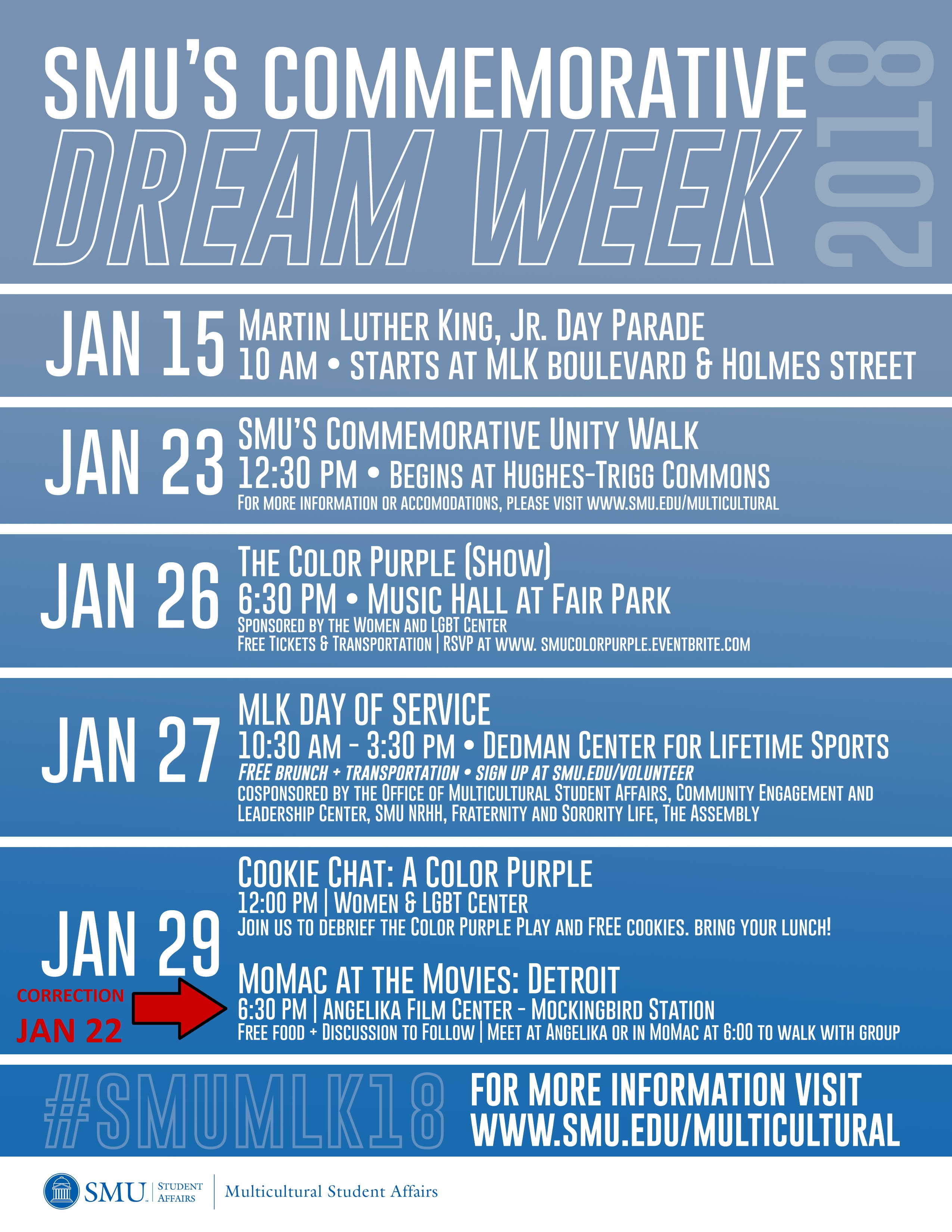 Dream Week Flyer