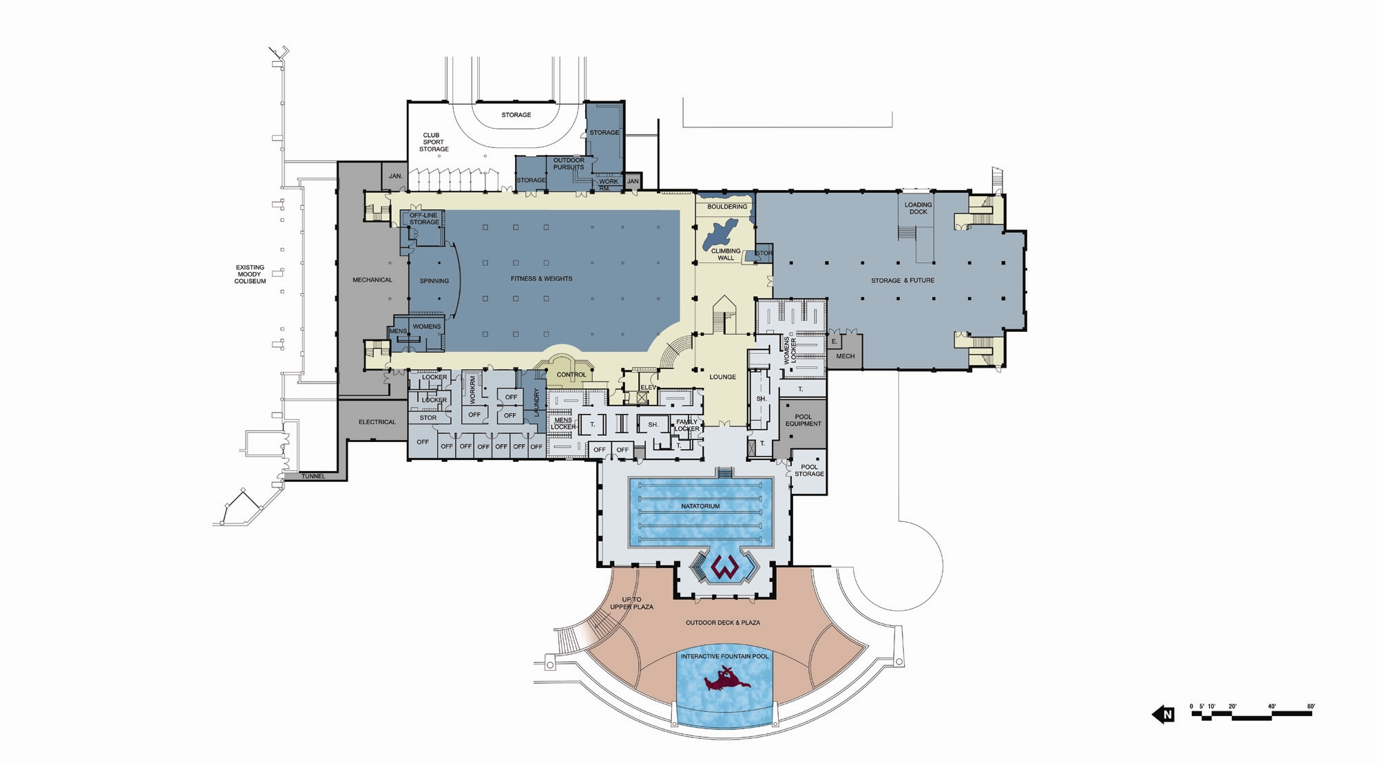 Lifetime fitness floor plan my review lifetime fitness for My contractor plan