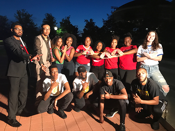 Members of NPHC Groups