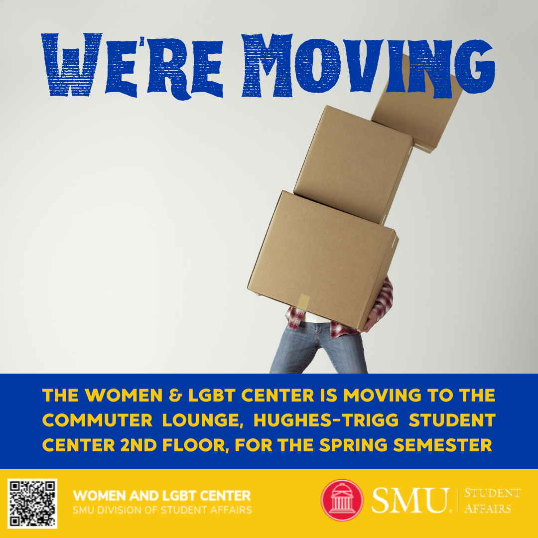 Starting this Monday, December 9 you'll find us in the Commuter Lounge in Hughes-Trigg Student Center, Suite 207, until our new space is ready in Fall 2020.