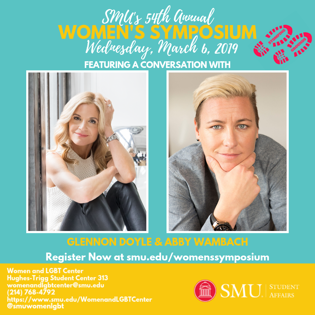 Women's Symposium Featuring Closing Conversation with Glennon Doyle and Abby Wambach