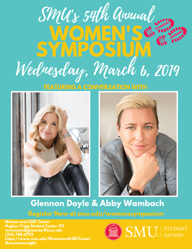 The Women's Symposium features a conversation with Glennon Doyle and Abby Wambach