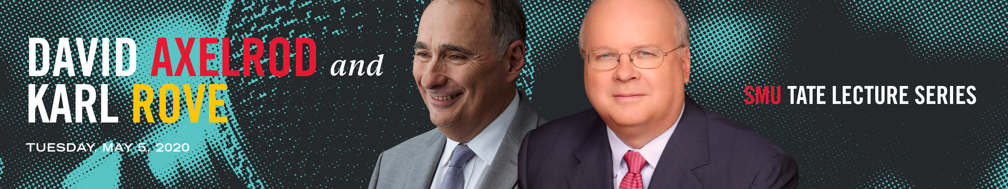 David Axelrod and Karl Rove