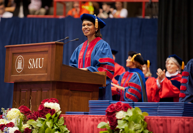 May Commencement Speakers - SMU