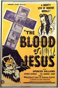 Promotional poster for 'The Blood of Jesus'