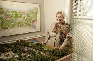 Mary Brinegar of the Dallas Arboretum