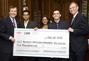 SMU's Data Mining Shootout champions