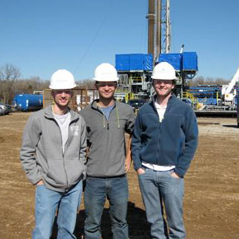 Members of SMU's student AAPG chapter