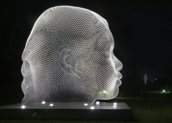 'Sho' by Jaume Plensa