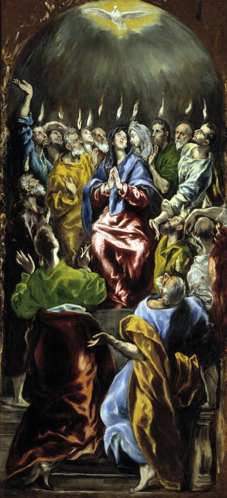 'Pentecost' by El Greco