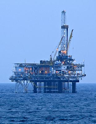 Platform drilling rig