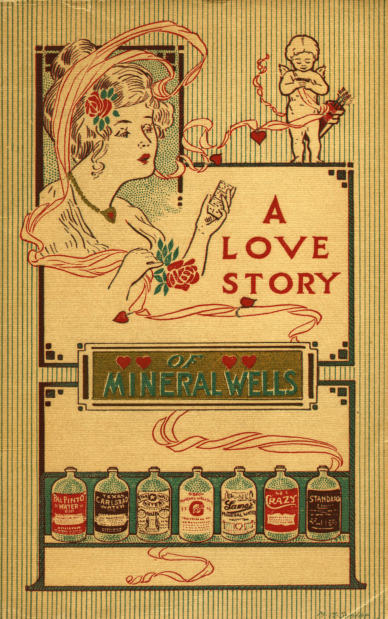 Cover of 'A Love Story of Mineral Wells'
