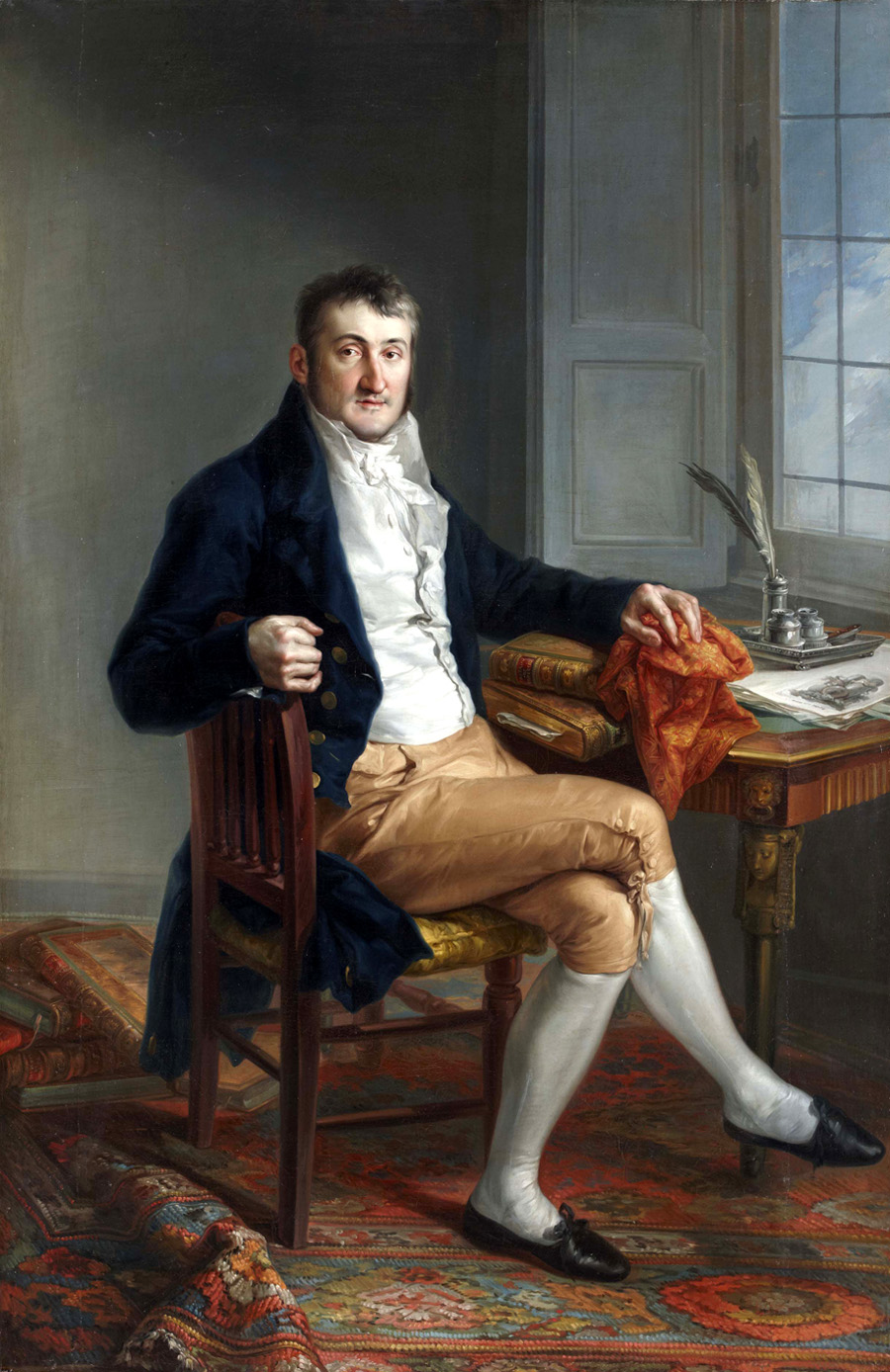 Portrait of Richard Worsam Meade by Vicente Lopez y Portana, 1815, courtesy of SMU's Meadows Museum