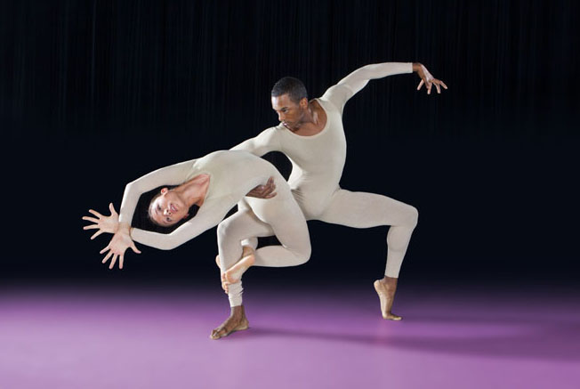Vigeland's Garden by SMU faculty member Christopher Dolder. The dancers are Sidney Anthony and Jamal Jackson White.
