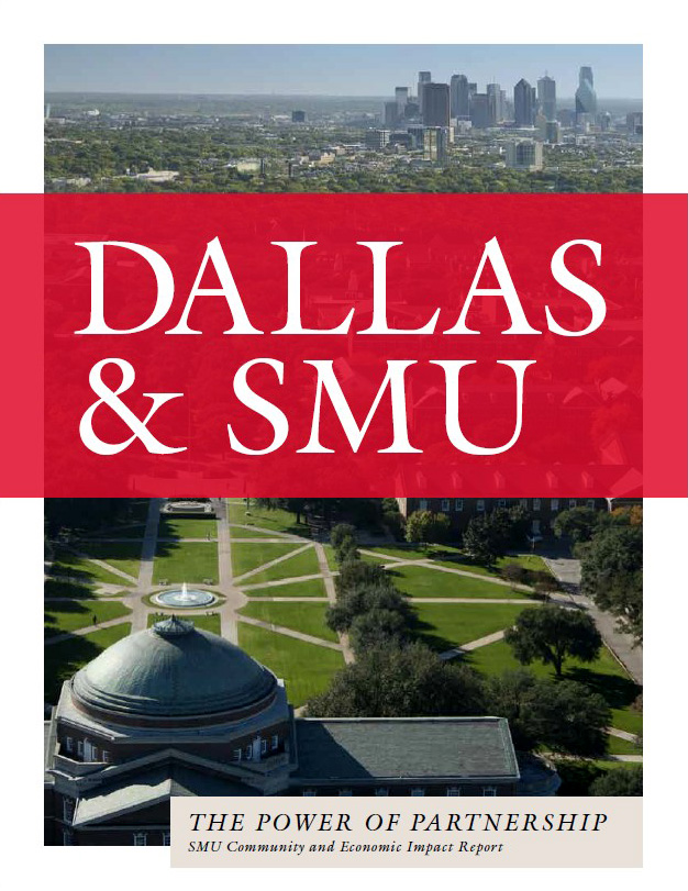 Cover of 'Dallas and SMU: The Power of Partnership;