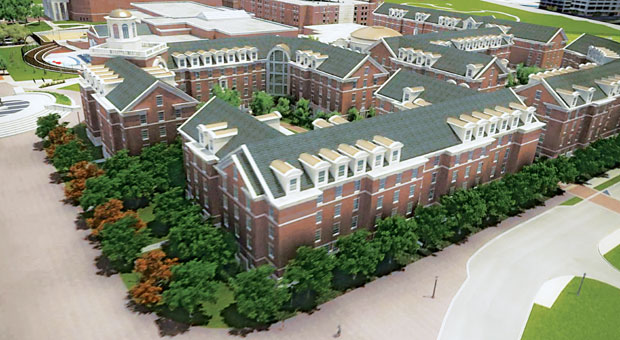 SMU Residential Commons Rendering 2012