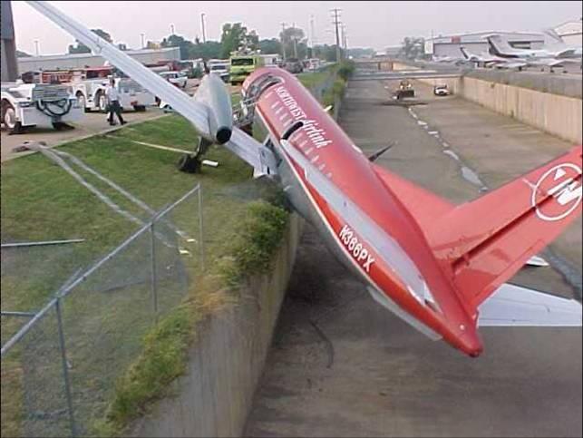 Runway accident