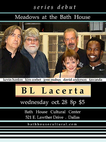 BL Lacerta poster for Meadows at the Bath House series