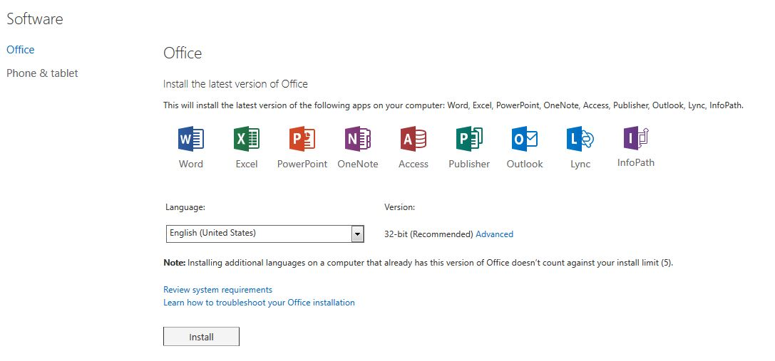 portal office 365 login microsoft