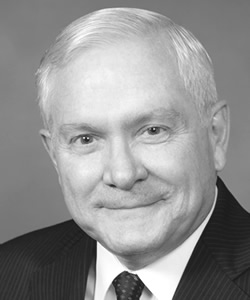 Former U.S. Secretary of Defense Robert M. Gates
