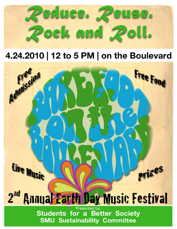 Barefoot on the Boulevard flier