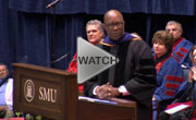 Ron Kirk at SMU Commencement on 15 May 2010
