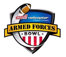 Armed Forces Bowl logo