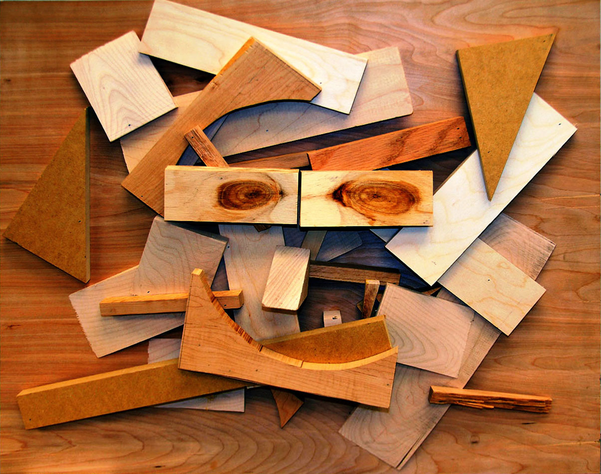 Nolberto Salas' 'Happiness in Wood,' winner of SMU's 2011 Art of Recycling Contest