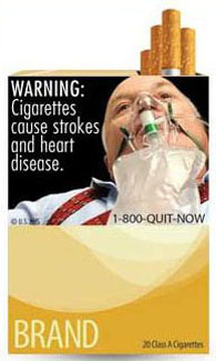 new cigarette ad campaign