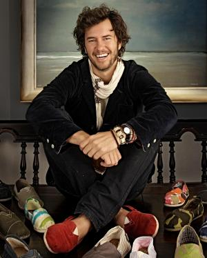 SMU alumnus and TOMS Shoes founder Blake Mycoskie