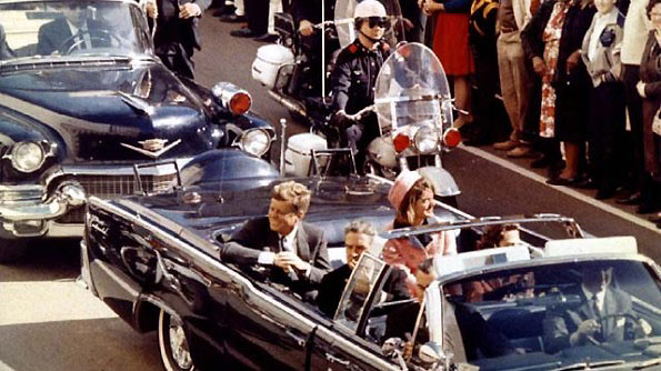 JFK motorcade in Dallas