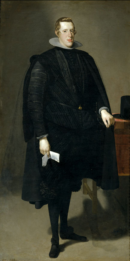 Philip IV, 1623-27. Oil on canvas. By Diego Rodríguez de Silva y Velázquez