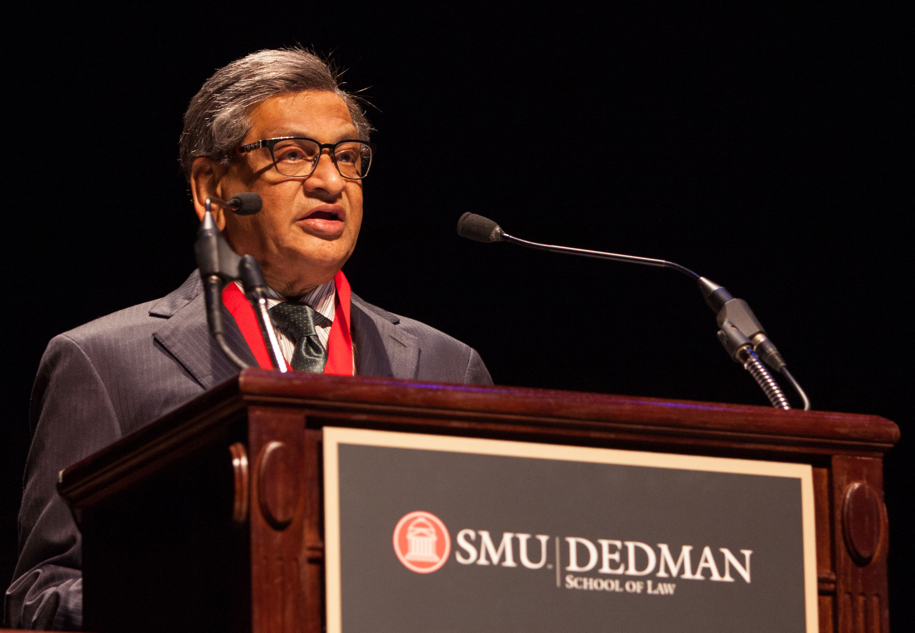 S M Krishna speaks at SMU
