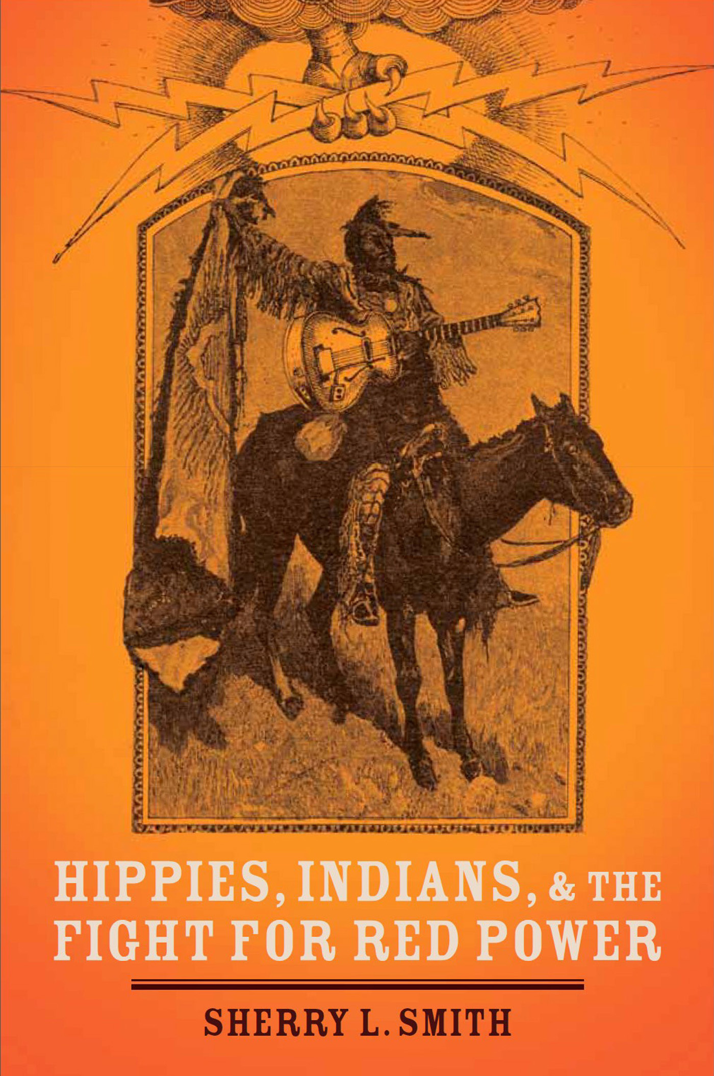 'Hippies, Indians, and the Fight for Red Power' book cover