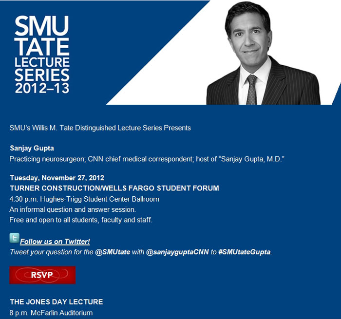 Tate Series presents Sanjay Gupta