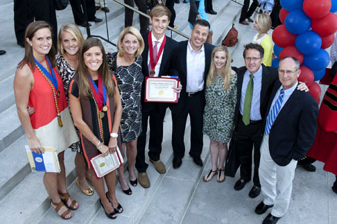 SMU Honors Convocation 2012