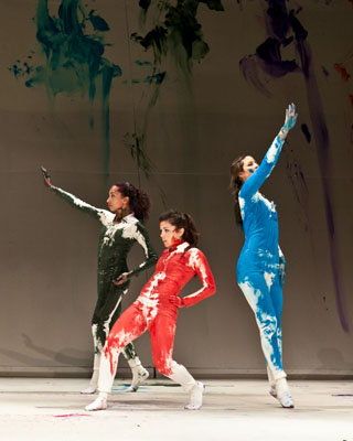 Meadows student dancers rehearse of Shen Wei's The New You