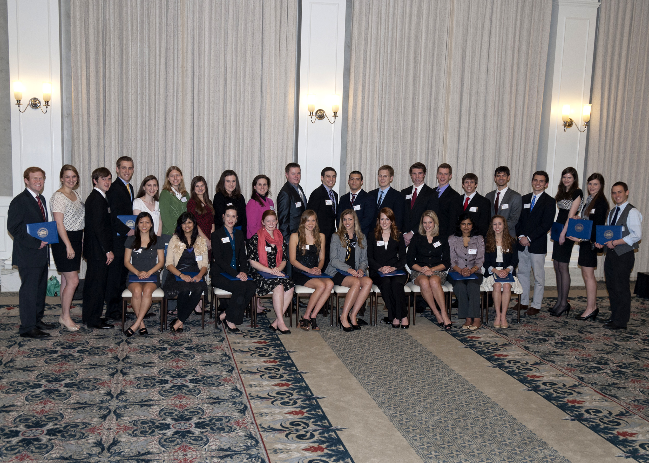 SMU Hyer Society group photo of 26 February 2012