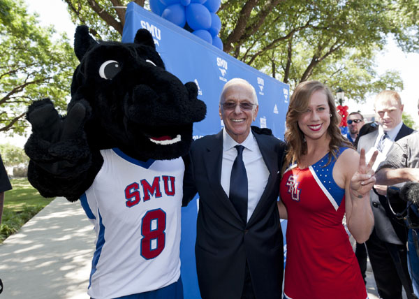 SMU welcomes new Men's Basketball Coach Larry Brown