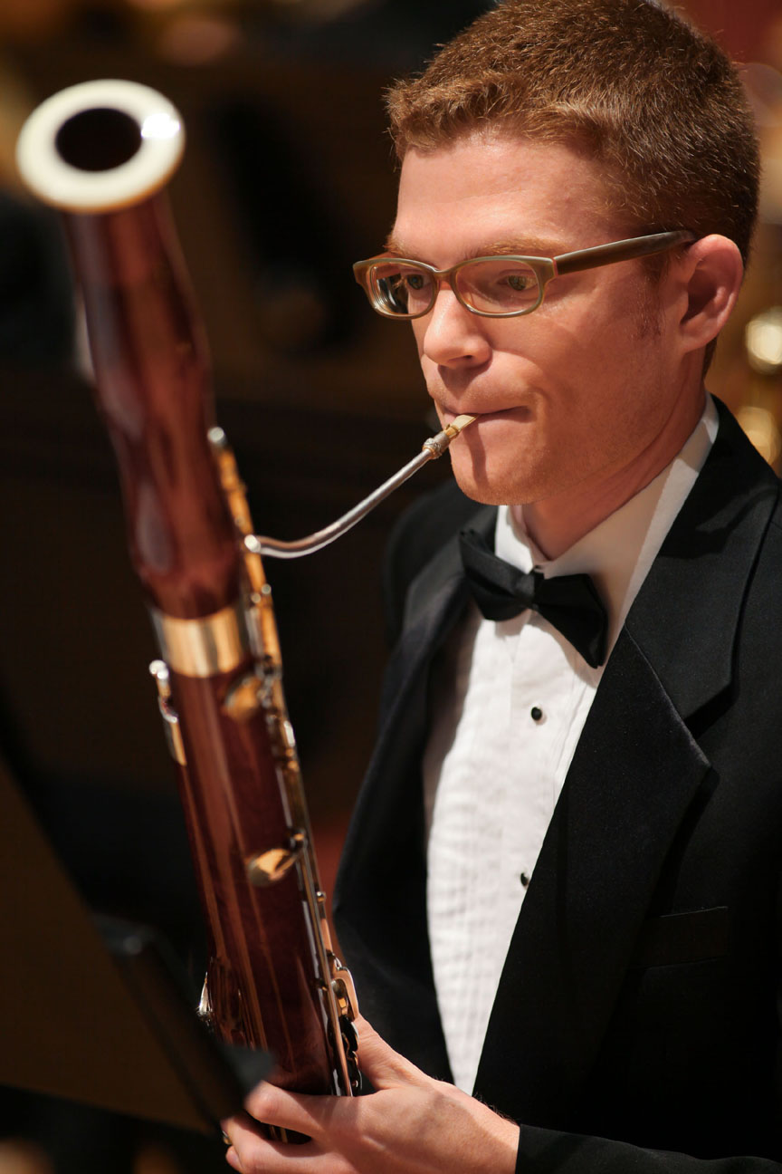 SMU Meadows Bassoon Player