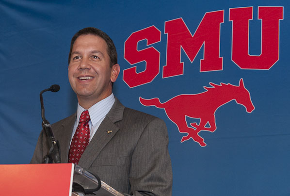 New SMU Director of Athletics Rick Hart