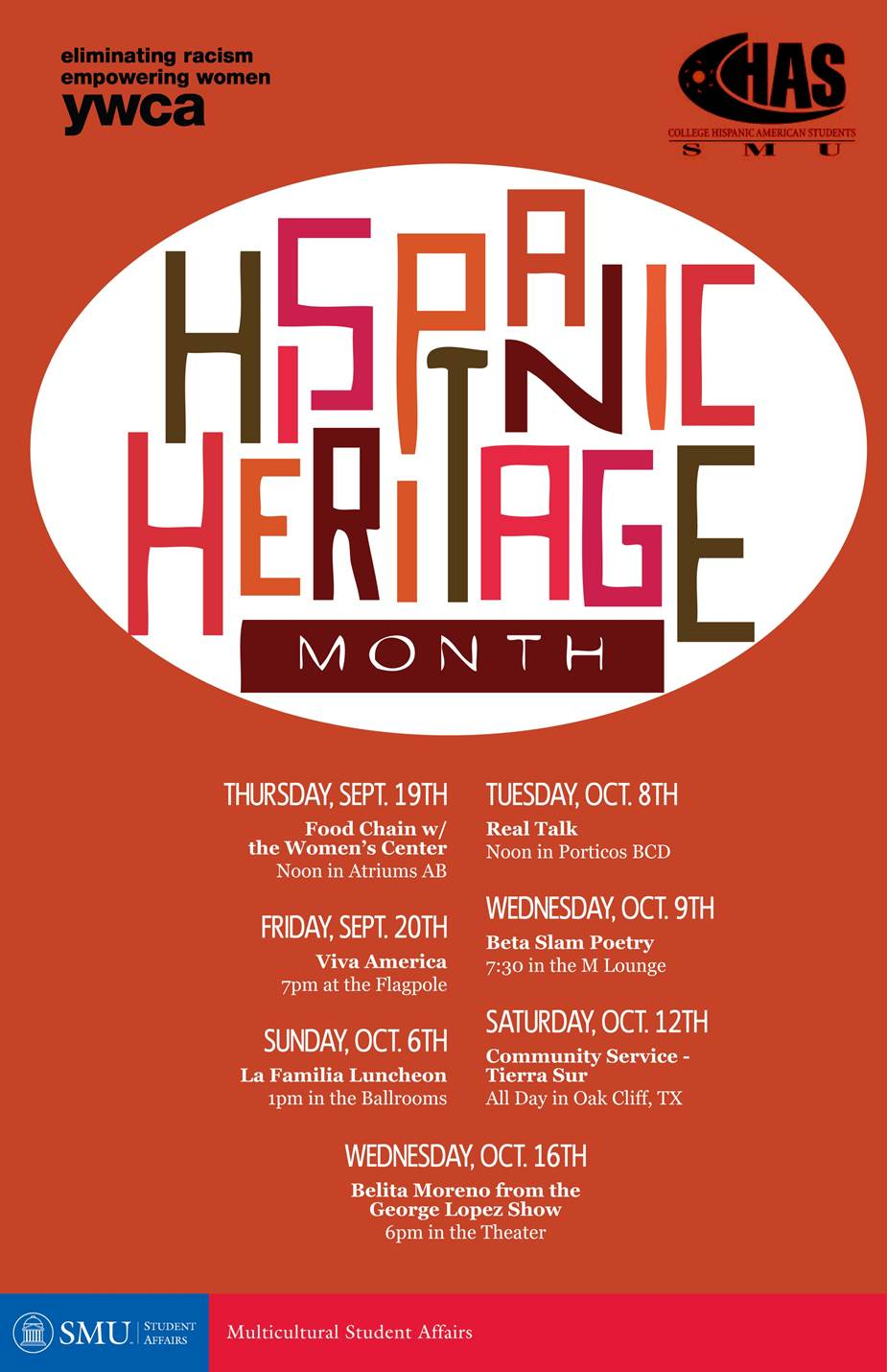 Hispanic Heritage Month 2013 at SMU