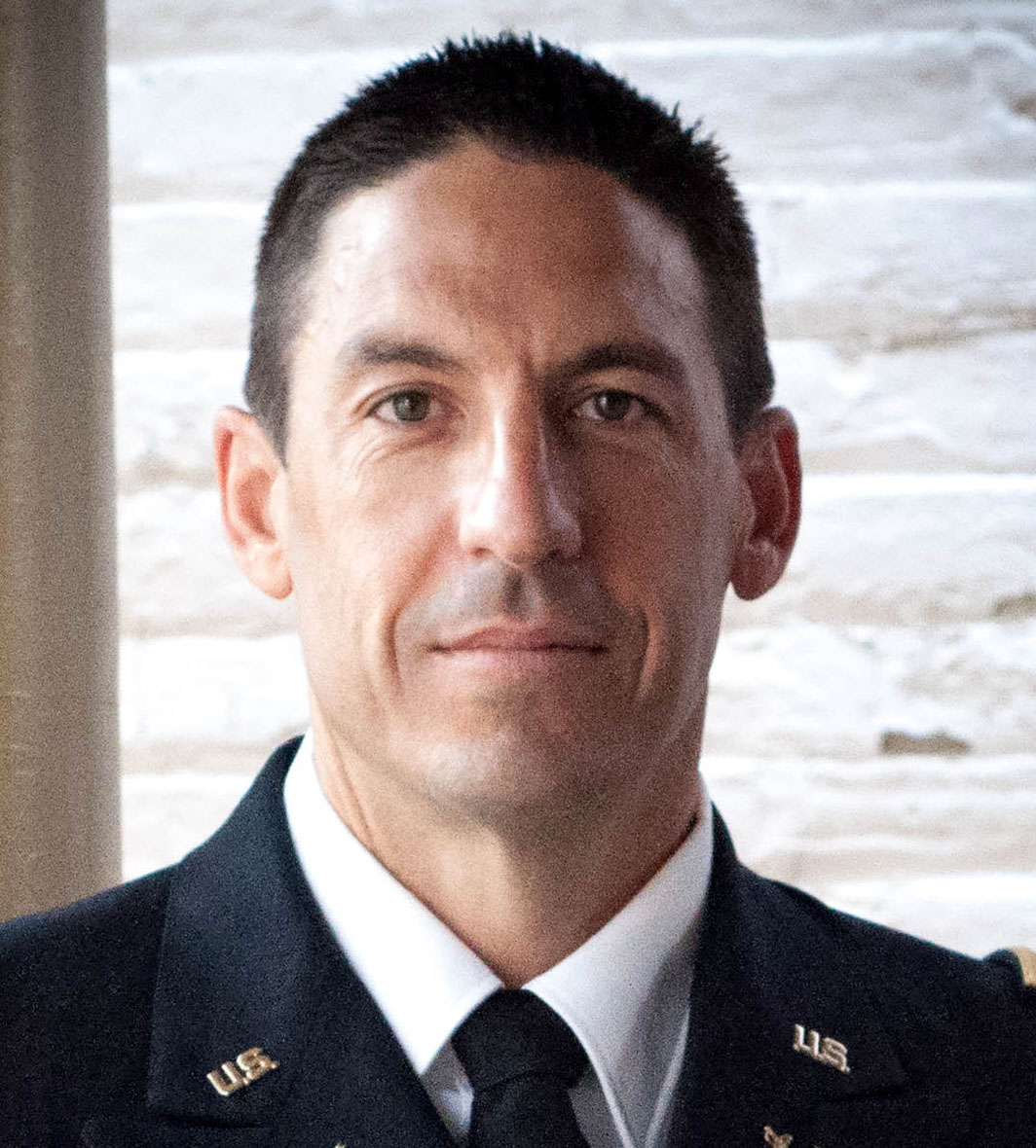 U.S. Army prosecutor Lt. Col. Jay Morse
