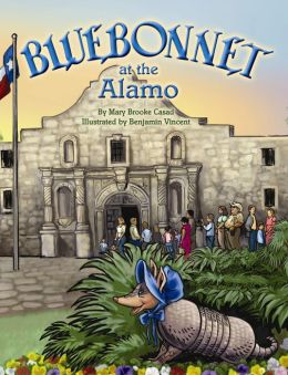 Bluebonnet at the Alamo