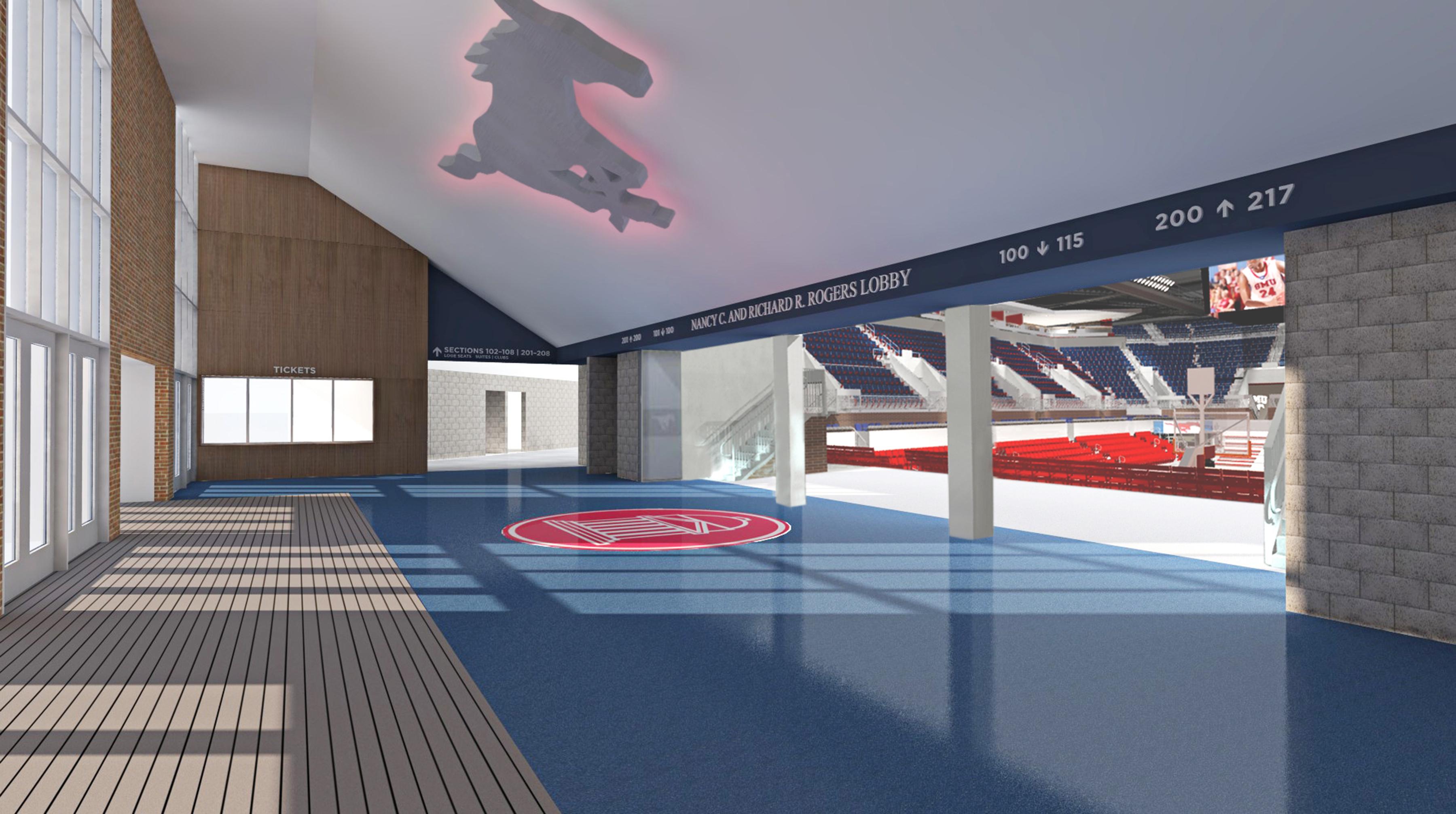 Moody Coliseum rendering